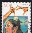 Sellos: ESPAÑA 3434 - AÑO 1996 - EUROPA - MUJERES CELEBRES - CARMEN AMAYA. Lote 160618038