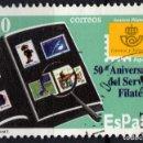Sellos: ESPAÑA 3441 - AÑO 1996 - 50º ANIVERSARIO DEL SERVICIO FILATELICO DE CORREOS. Lote 160618214