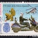Sellos: ESPAÑA 3623 - AÑO 1999 - 175º ANIVERSARIO DE LA POLICIA ESPAÑOLA - TRANSPORTES. Lote 160626674