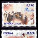 Sellos: ESPAÑA - 2004 EDIFIL Nº 4089/4090 - EXPOSICIÓN MUNDIAL DE FILATELIA ESPAÑA 2004 (VALENCIA). Lote 160645462