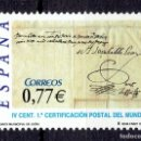 Sellos: ESPAÑA - 2004 EDIFIL Nº 4125 - DÍA DEL SELLO. Lote 160646194