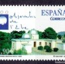 Sellos: ESPAÑA - 2004 EDIFIL Nº 4126 - I CENTENARIO DEL OBSERVATORIO DEL EBRO. Lote 160646466