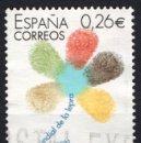 Sellos: ESPAÑA 3959 - AÑO 2003 - DIA MUNDIAL DE LA LEPRA. Lote 160681678