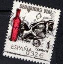 Sellos: ESPAÑA 4497 - AÑO 2009 - SEGURIDAD VIAL. Lote 160683510