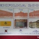 Sellos: + SERIE Nº 3906** (HOJA BLOQUE) - EXPOSICIÓN FILATÉLICA NACIONAL (EXFILNA 2002) - LEER DESCRIPCIÓN. Lote 160771838