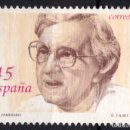 Sellos: ESPAÑA 3241* - AÑO 1993 - MUJERES FAMOSAS - MARIA ZAMBRANO. Lote 160882758