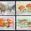 Sellos: ESPAÑA 3244/47 - AÑO 1993 - MICOLOGIA - SETAS. Lote 160883534