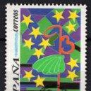 Sellos: ESPAÑA 3269 - AÑO 1993 - DISEÑO INFANTIL - CAMINO DE SANTIAGO. Lote 160883802