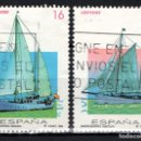 Sellos: ESPAÑA 3314/15 - AÑO 1994 - BARCOS DE EPOCA. Lote 160884562