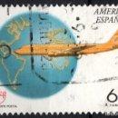 Sellos: ESPAÑA 3321- AÑO 1994 - AMERICA UPAEP - TRANSPORTE POSTAL - AVIONES. Lote 160884694