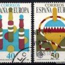 Sellos: ESPAÑA 3008/09 - AÑO 1989 - EUROPA - JUEGOS INFANTILES. Lote 164869060