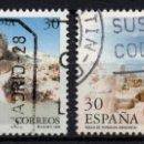 Sellos: ESPAÑA 3395/96 - AÑO 1995 - ARQUEOLOGIA - MONUMENTOS MEGALITICOS. Lote 164869120