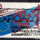 Sellos: ESPAÑA 3010 - AÑO 1989 - PRESIDENCIA ESPAÑOLA DE LAS COMUNIDADES EUROPEAS. Lote 164869204