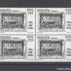 Sellos: ESPAÑA 3780 EN B4 SIN CHARNELA, DIA DEL SELLO, BUZON EN MAYORGA (VALLADOLID). Lote 161264074
