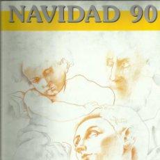 Sellos: DOCUMENTO FILATÉLICO 1990.NAVIDAD. Lote 161339282