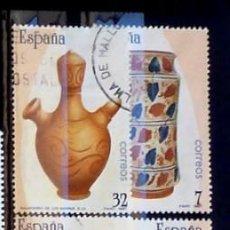 Sellos: SELLOS ESPAÑA 1987 - FOTO 383 - Nº 2891 COMPLETA USADO. Lote 161508438