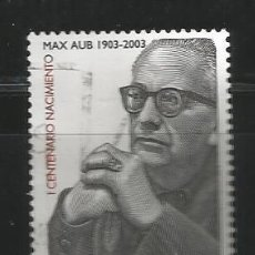 Sellos: ESPAÑA 2003 - MAX AUB - CENTANARIO - EDIFIL 3992. Lote 161865130