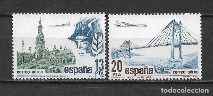 ESPAÑA 1981 EDIFIL 2635/2636 ** NUEVO - 5/2 (Sellos - España - Juan Carlos I - Desde 1.975 a 1.985 - Nuevos)