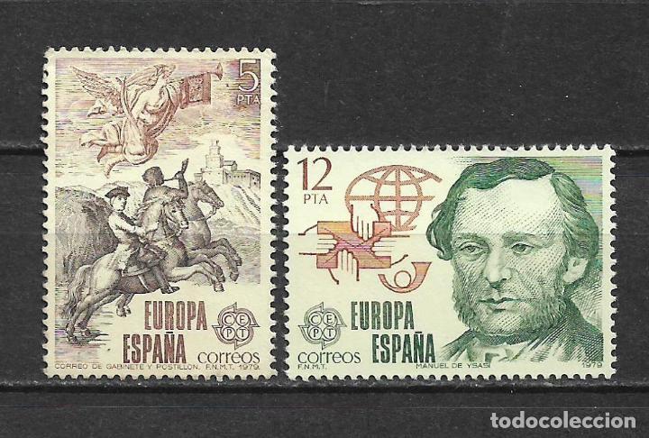 ESPAÑA 1979 EDIFIL 2520/2521 ** NUEVO - 5/2 (Sellos - España - Juan Carlos I - Desde 1.975 a 1.985 - Nuevos)