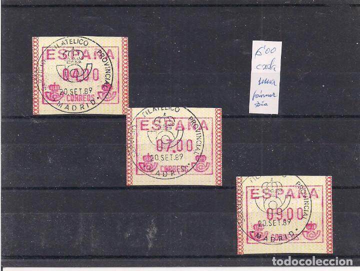 ATMS. (Sellos - España - Juan Carlos I - Desde 1.986 a 1.999 - Nuevos)