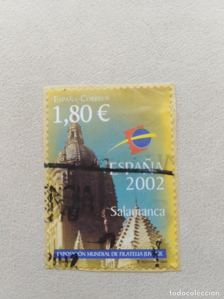 SELLO ESPAÑA SALAMANCA ESPAÑA 2002 (Sellos - España - Juan Carlos I - Desde 2.000 - Usados)