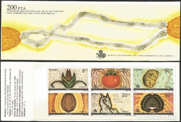 Sellos: ESPAÑA 1989 - AÑO COMPLETO NUEVOS - Foto 6 - 162924498