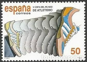 ESPAÑA 1989 - ES 3023 - CAMPEONATO MUNDO ATLETISMO - NUEVO (Sellos - España - Juan Carlos I - Desde 1.986 a 1.999 - Nuevos)
