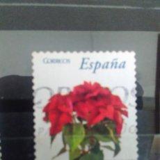 Sellos: EDIFIL 4216 FLOR DE PASCUA - FLORA, DE LA SERIE: FLORA Y FAUNA. AÑO 2006. Lote 162937958