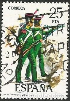 Sellos: ESPAÑA 1976 - ES 2350 A 2354 - UNIFORMES MILITARES (VI) - SERIE USADA - Foto 6 - 162956366