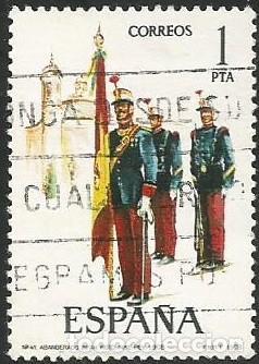 Sellos: ESPAÑA 1978 - ES 2451 A 2455 - UNIFORMES MILITARES (IX) - SERIE USADA - Foto 2 - 162959642