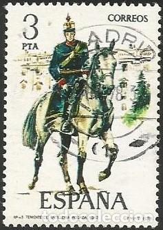 Sellos: ESPAÑA 1978 - ES 2451 A 2455 - UNIFORMES MILITARES (IX) - SERIE USADA - Foto 4 - 162959642