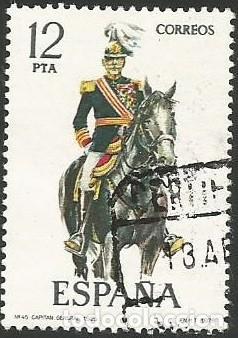 Sellos: ESPAÑA 1978 - ES 2451 A 2455 - UNIFORMES MILITARES (IX) - SERIE USADA - Foto 6 - 162959642