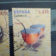 Sellos: EDIFIL 4785 TIMBALES DE LA SERIE: INSTRUMENTOS MUSICALES. AÑO 2013. Lote 163024970