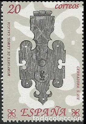 Sellos: ESPAÑA 1990 - ES 3061 A ES 3066 - ARTESANIA DEL HIERRO - SERIE NUEVA - Foto 6 - 163225898