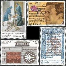 Sellos: ESPAÑA 1990 - ES 3069 A ES 3072 - CENTENARIOS - SERIE NUEVA. Lote 163232266