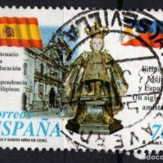 Sellos: ESPAÑA 3552 - AÑO 1998 - CENTENARIO DE LA INDEPENDENCIA DE FILIPINAS. Lote 244777840