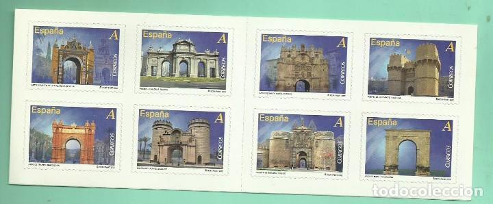 HB 2012 , 8 SELLOS TARIFA A. ARCOS Y PUERTAS MONUMENTALES 30% DESCUENTO. (Sellos - España - Juan Carlos I - Desde 2.000 - Nuevos)