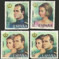 Sellos: ESPAÑA 1975 - ES 2302 A 2305 - PRIMEROS SELLOS DE JUAN CARLOS I - 4 SELLOS. Lote 163860654