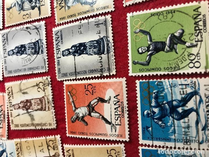 Sellos: Lote de 25 sellos varios - Foto 2 - 164585170