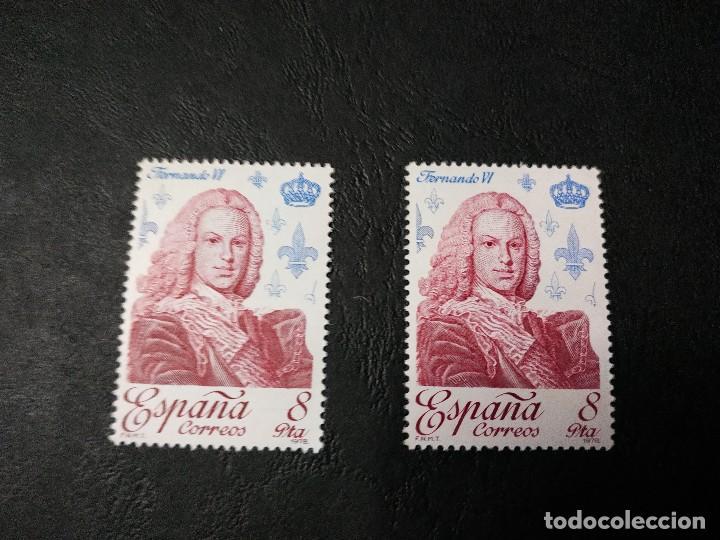REYES DE ESPAÑA. CASA DE BORBON (Sellos - España - Juan Carlos I - Desde 1.975 a 1.985 - Nuevos)