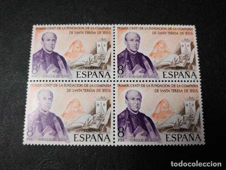 CENTENARIO FUNDACIÓN COMPAÑÍA S. TERESA DE JESÚS (Sellos - España - Juan Carlos I - Desde 1.975 a 1.985 - Nuevos)