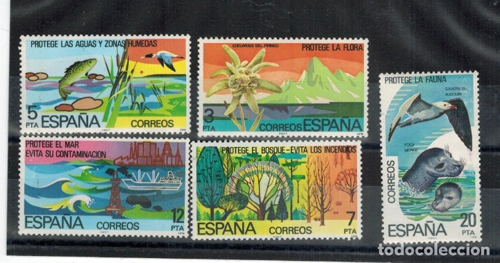 ESPAÑA 1978 ** NUEVOS EDIFIL 2469/2473 - 5/26 (Sellos - España - Juan Carlos I - Desde 1.975 a 1.985 - Nuevos)