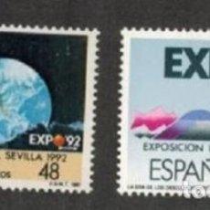 Sellos: ESPAÑA 1987 ** NUEVOS EDIFIL 2875/2876 - 5/27. Lote 164902298
