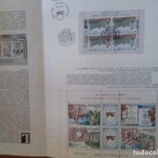 Sellos: DOCUMENTO EXPAMER 80 DIA DE LAS NACIONES UNIDAS MADRID 03 OCTUBRE 1980. Lote 165370486