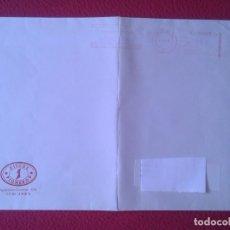 Sellos: ANTIGUO SOBRE AÑO 1998 CON MEMBRETE TIENDA DE DISCOS PIONEROS JAÉN DISCO SHOP.. VINILO...CD MÚSICA... Lote 165504454