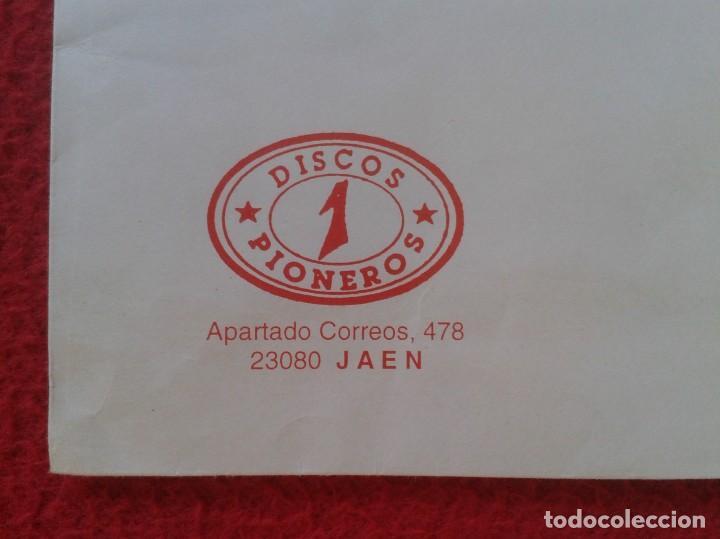 Sellos: ANTIGUO SOBRE AÑO 1998 CON MEMBRETE TIENDA DE DISCOS PIONEROS JAÉN DISCO SHOP.. VINILO...CD MÚSICA.. - Foto 2 - 165504454