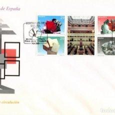 Sellos: MINERALES DE ESPAÑA. SELLOS 1994. SOBRE PRIMER DÍA. IGME. . Lote 166421758