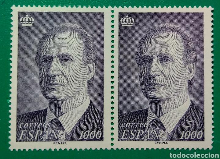 1995. BLOQUE DE 2. JUAN CARLOS I. ED. 3403**. (Sellos - España - Juan Carlos I - Desde 1.986 a 1.999 - Nuevos)
