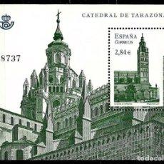 Sellos: ESPAÑA 2011- EDI 4679 (HOJA BLOQUE) (CATEDRAL DE TARAZONA) NUEVO***SIN/CH. Lote 166984404