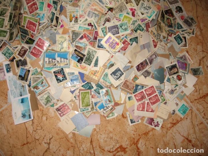 Sellos: CINCO MIL SELLOS DE ESPAÑA MATA-SELLADOS - Foto 5 - 167561464
